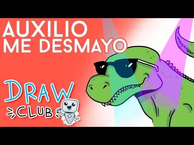 El ORIGEN de AUXILIO, me desmayo - Draw Club