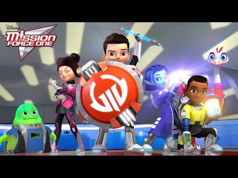 Rarified Air | Mission Force One: Connect and Protect | Disney Junior