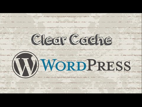 How to clear WordPress cache with WP Super Cache - 동영상