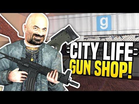 NEW GUN SHOP - City Life #2 | Gmod DarkRP!