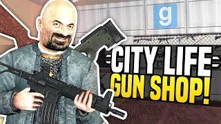 Video NEW GUN SHOP - City Life #2 | Gmod DarkRP! download MP3, 3GP, MP4, WEBM, AVI, FLV Juli 2018