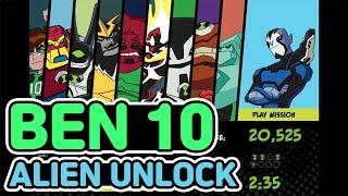 BEN 10 ALIEN UNLOCK - 모든 캐릭터를 …