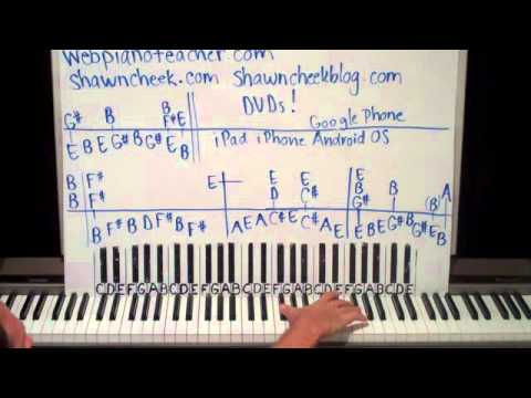 Piano Lesson Wicked Game Shawn Cheek Tutorial
