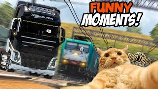 Euro Truck Simulator 2 Multiplayer Funny Moments & Crash Compilation #43