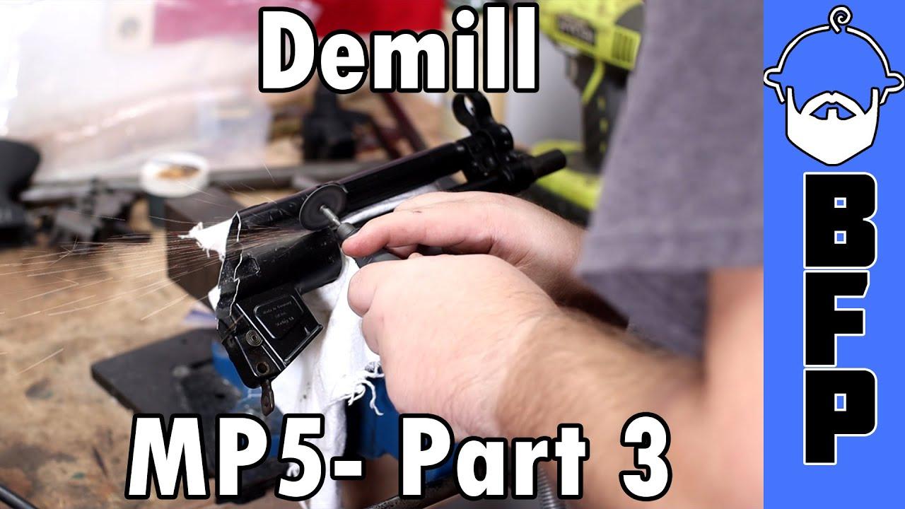 MP5 Build Part 3 - Demill
