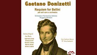 Requiem for Bellini: Dies irae. Confutatis maledictis