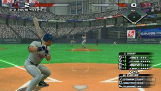 The Bigs Nintendo Wii Gameplay - Twins at Bat