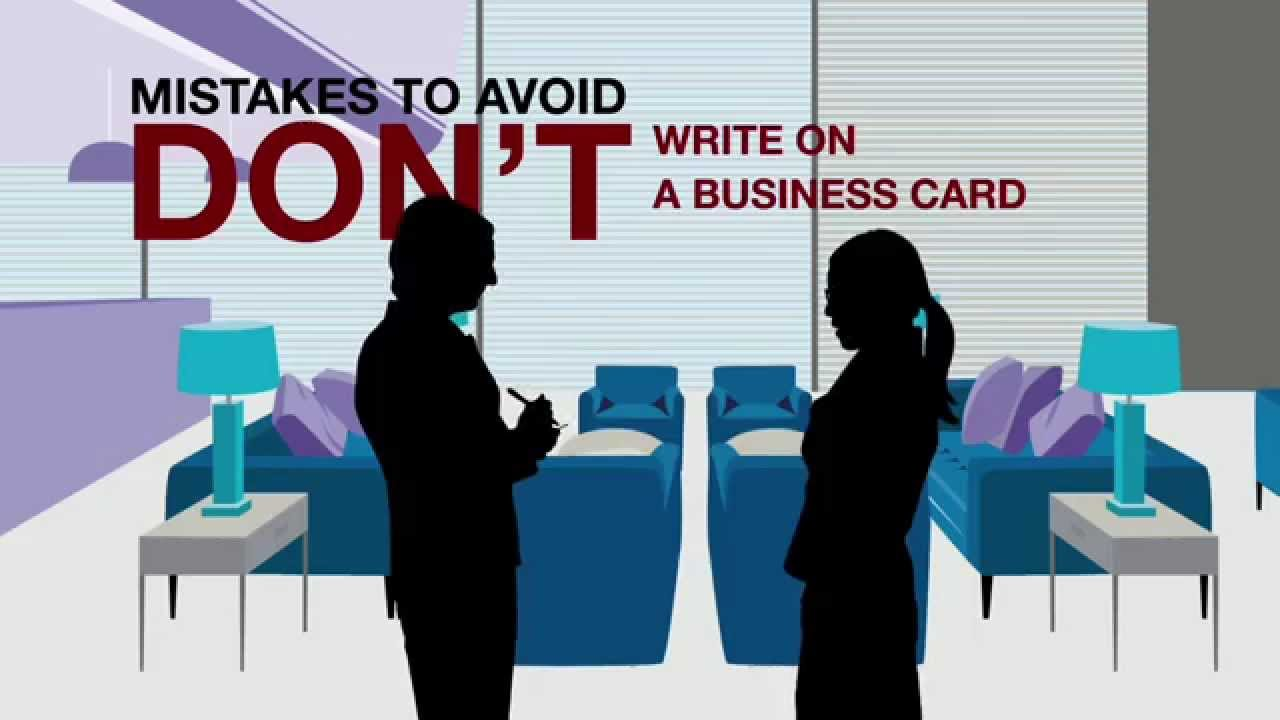 Japan 3 - Rules when exchanging business cards - YouTube