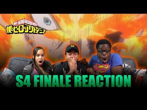 ENDEAVOR GOES PLUS ULTRA!!   My Hero Academia EP 87-88 Reaction