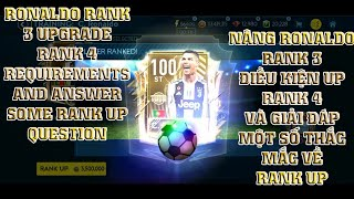 RANK 3 RONALDO, RANK 4 REQUIREMENTS AND SOME RANK UP GUIDE