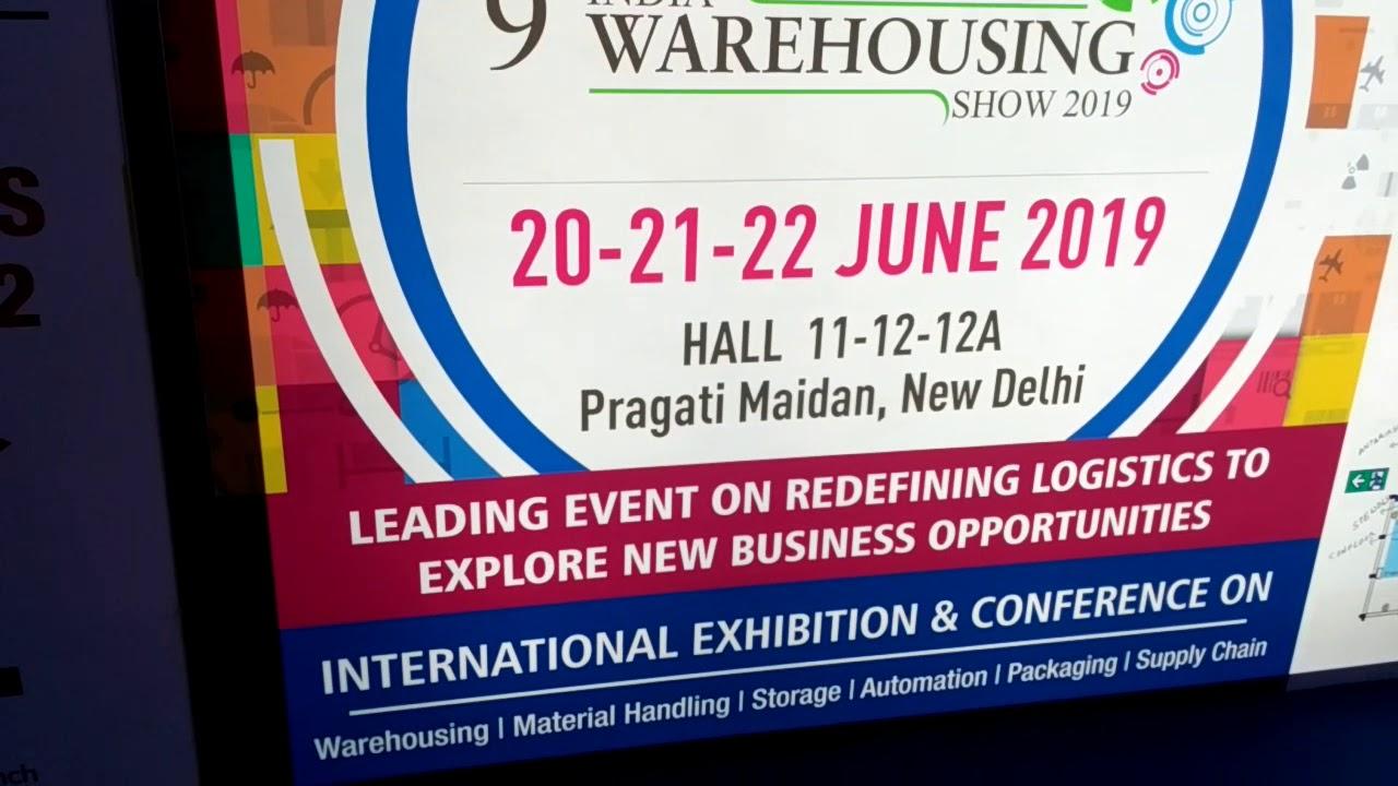 9th India Warehousing show 2019