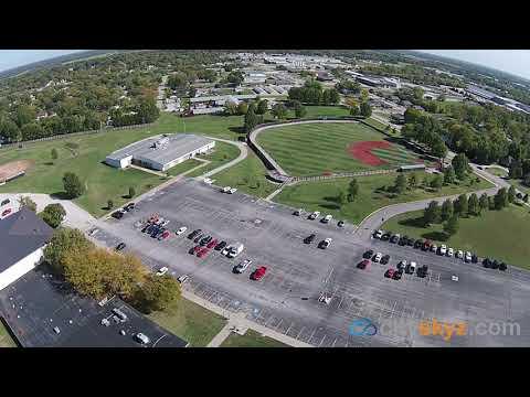 NCCC Neosho County Community College, Chanute Kansas 66720 Drone Flyover Photography cityskyz.com