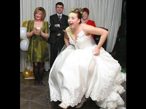Смешные моменты со свадеб. Смешные видео. Забавные
