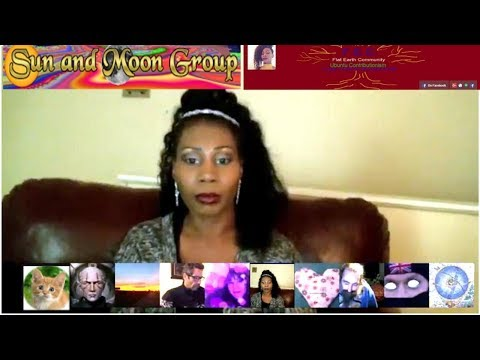 Flat Earth evening with `Sassy Undeniably` with Sun and Moon Group.