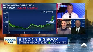 Morgan Creek's Anthony Pompliano and Kevin O'Leary debate Bitcoin