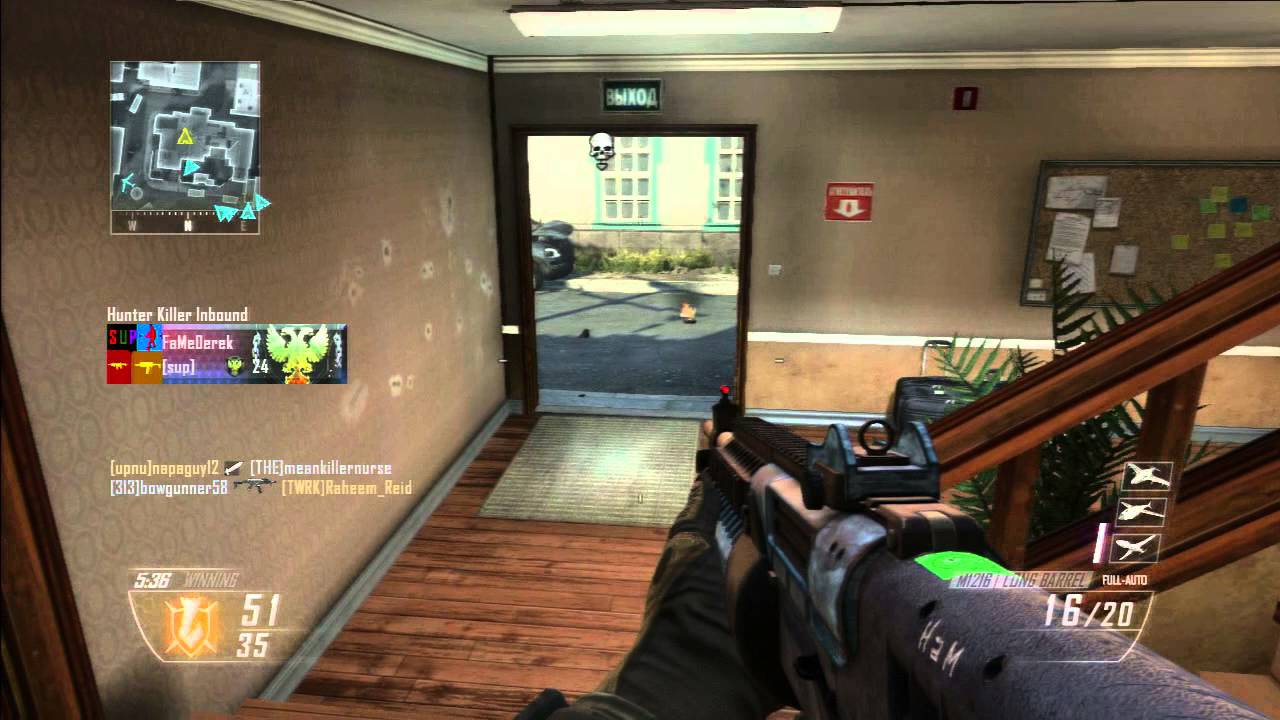 Black Ops 2 - Road to Gold (M1216) || Match #19 - YouTube M1216 Gold