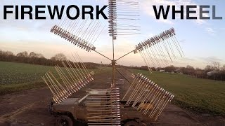 Giant Rocket Powered Firework Wheel thumbnail