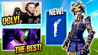 STREAMERS REACT TO NEW PRAISE THE TOMATO EMOTE - Fortnite Best Moments & Fortnite Funny Moments#131