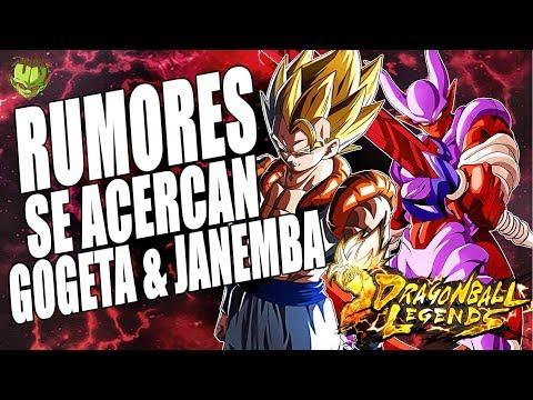 RUMORES DE FUTUROS BANNERS! GOGETA Y JANEMBA! /// DRAGON BALL LEGENDS EN ESPAÑOL