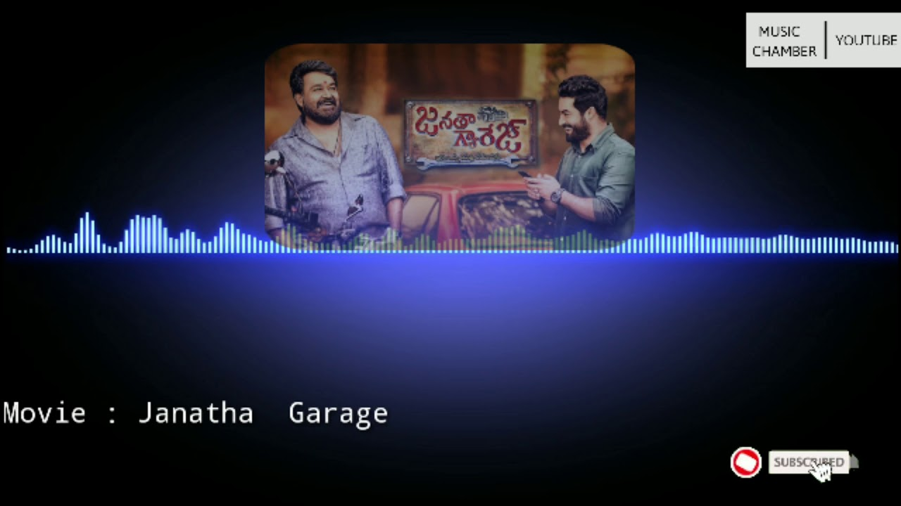 Janatha Garage | BGM| Ringtones | Use Headphones For Best Experience