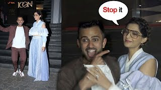 Sonam Kapoor Gets EMBARASSED By Husband Anand Ahuja's Behaviour At Veere Di Wedding Promotions