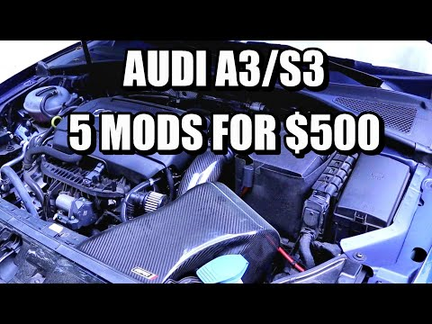 Audi A3/S3 Best Mods for $500