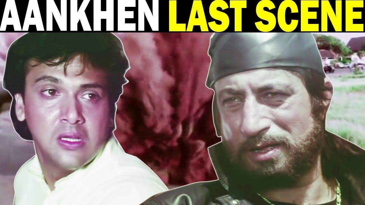 Aankhen Last Scene | Govinda | Chunky Pandey | Shakti Kapoor | Last Action Scene