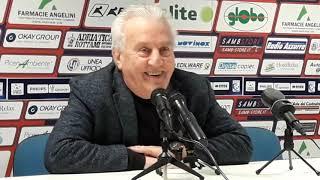 """Samb-Triestina 0-0, Fedeli: """"La nostra adesso è una squadra vera"""""""
