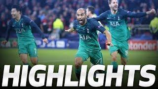LUCAS MOURA'S INCREDIBLE HAT-TRICK | HIGHLIGHTS | Ajax 2-3 Spurs (UEFA Champions League semi-final)