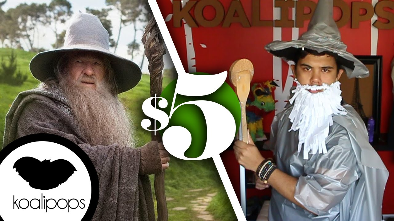 The hobbit gandalf the grey 5 costume how to youtube the hobbit gandalf the grey 5 costume how to solutioingenieria Images