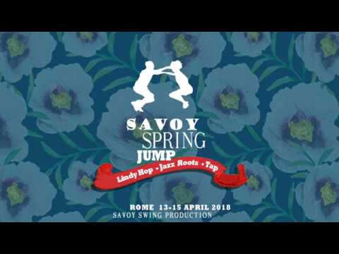 SAVOY SPRING JUMP 2018  Saturday night party first dance Swing Valley Band & Mauro L  Porro