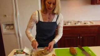 Betty's Onion Soup-flavored Baked Potatoes