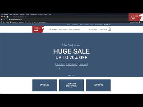 Flatsome Theme Tutorial in Deutsch für WordPress - Kaufen, Kosten, Installation und Demo