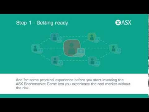 Getting into the sharemarket. ASX Tutorial