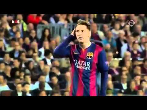 Lionel Messi celebration vs Bayern Munich