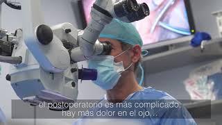 El testimonio de la operación ocular de Manuel  - Miranza