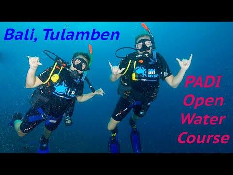 Taking our PADI open water in Tulamben, Bali, Indonesia, Travel vlog