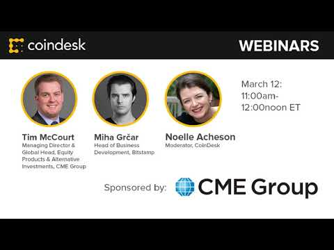 The Future of Futures - Webinar by CoinDesk
