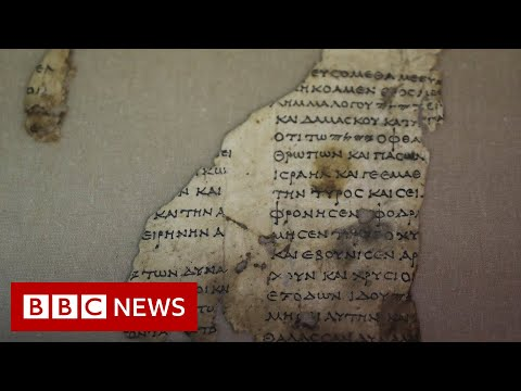 Rare ancient scroll found in Israel Cave of Horror - BBC News
