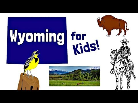Wyoming for Kids | US States Learning Video