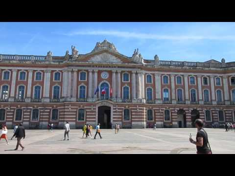 Toulouse, Haute-Garonne, France. TRAVEL VIDEO