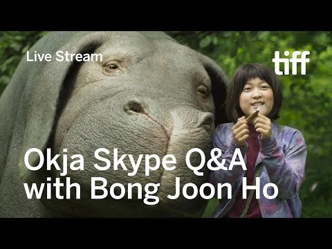 OKJA Skype Q&A with Director Bong Joon Ho Live from Seoul
