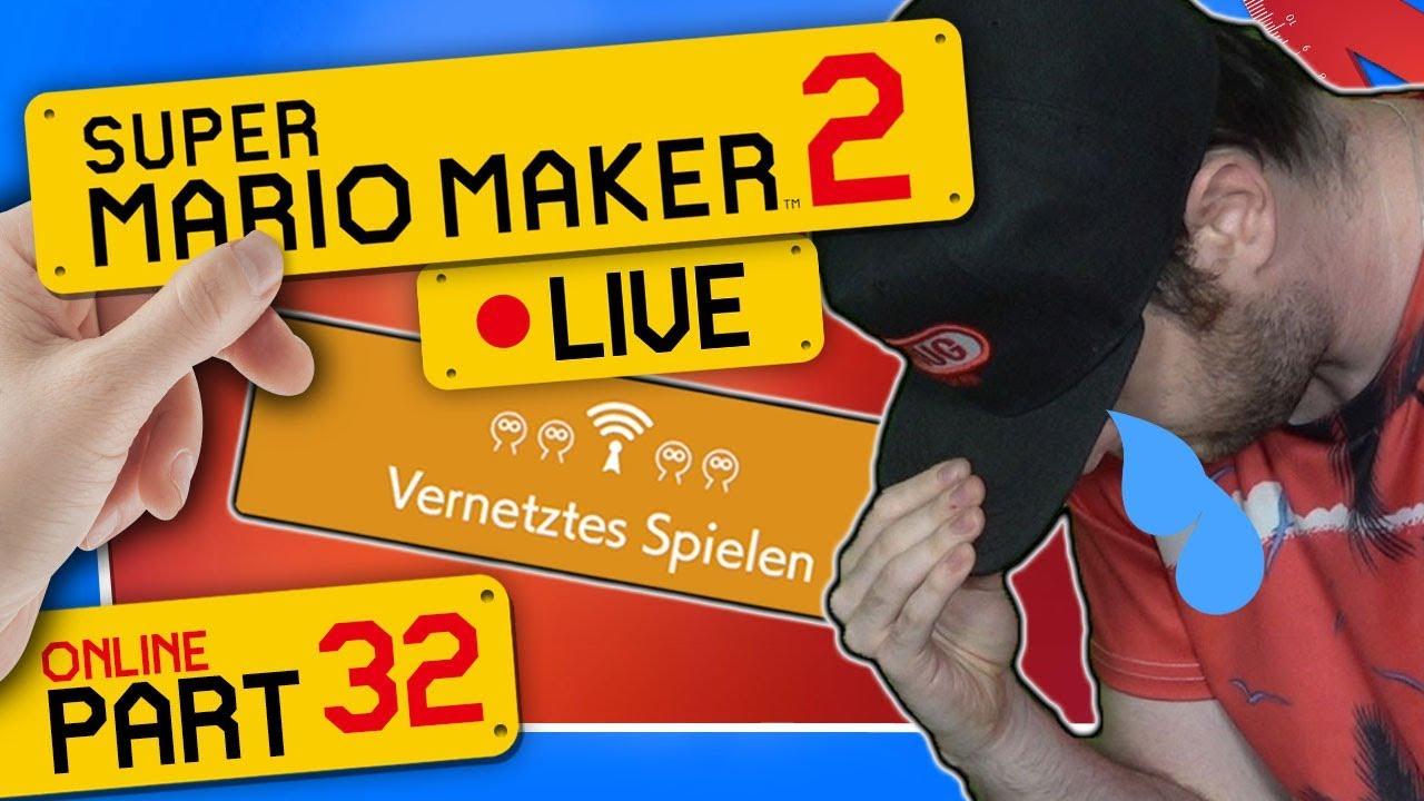 ???? SUPER MARIO MAKER 2 ONLINE ???? #32: Dieser Stream hat mich gebrochen...