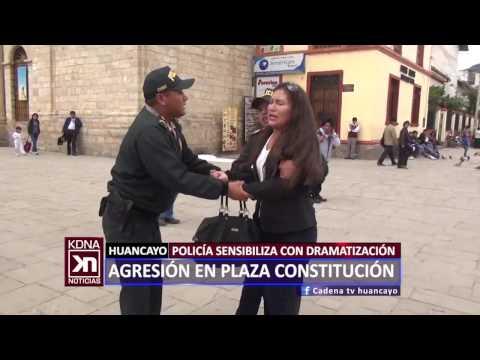 AGRESIÓN EN PLAZA CONSTITUCIÓN CADENA NOTICIAS