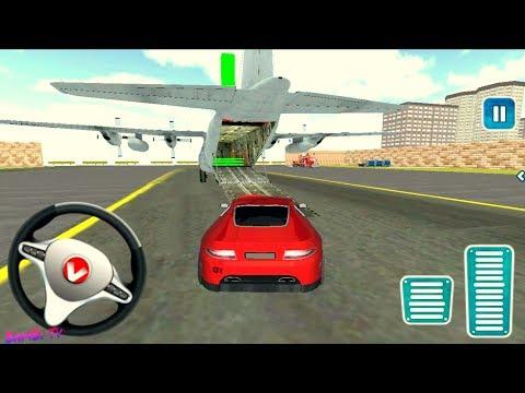 Airplane Pilot Car Transporter - Simulator Plance Transport Car Games  - BamBi Tv - Android GamePlay