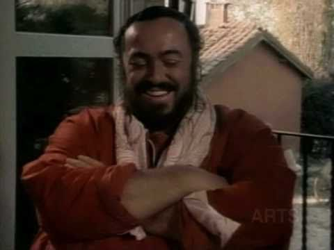 Luciano Pavarotti Discusses His Influences