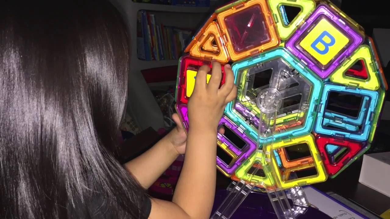 Keten Magnets Building Blocks Construction Set