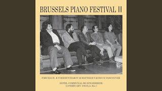 Provided to YouTube by TuneCore Japan エディにミルクとキャンデーを(Live at スカーベーク市庁舎、ブリュッセル、1994) · Pascal MICHAUX ブリュッセル ピアノ ...