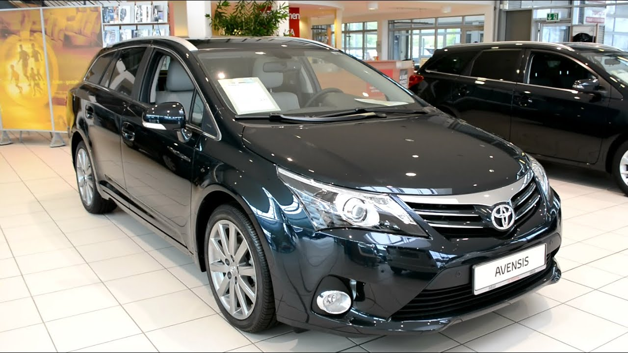 2014 New Toyota Avensis Executive Combi Youtube