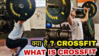 CROSSFIT क्या है ? | LEARN RIGHT TECHNIQUES OF CROSSFIT WITH 12 YEARS OLD GIRL ? @Fitness Fighters